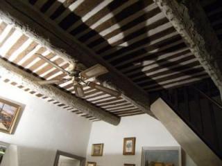 Plafond à la provencale